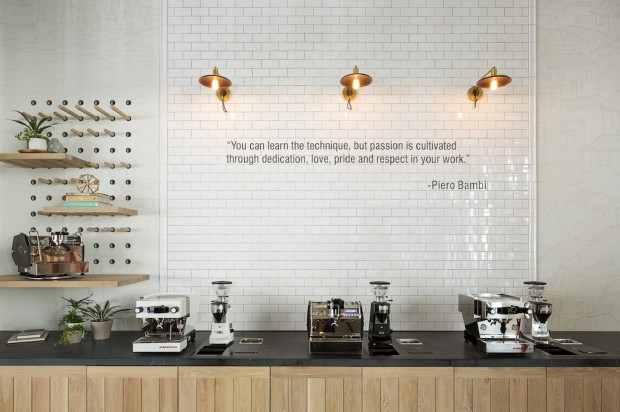 The La Marzocco Café and Showroom in Seattle.