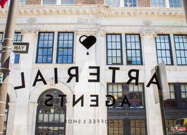Arterial Agents coffee retail philly