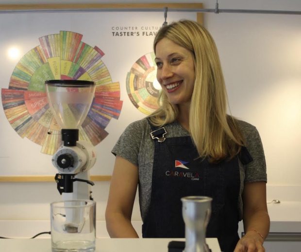 Joanna Lawson Leading Trader Caravela Coffee's First European Office, in London