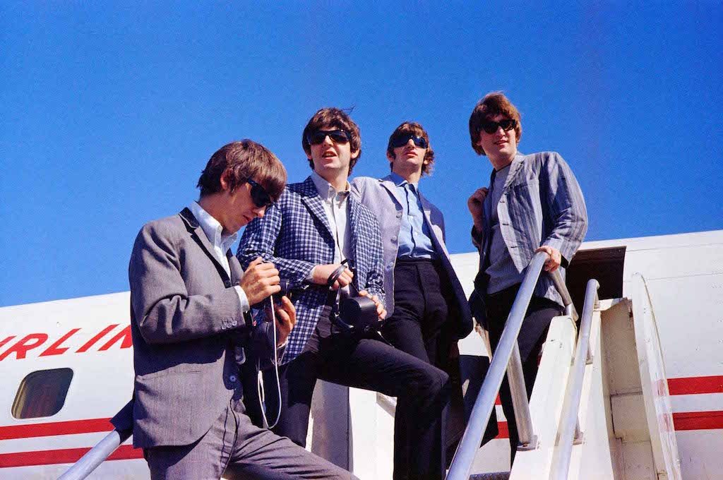 The Beatles airplane