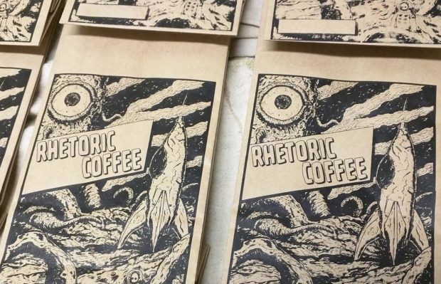 Comic Art and Single-Coffee Blends from Subscription Startup Rhetoric Coffee
