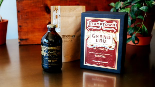 Stumptown Releases 'Red Gesha' Grand Cru Products at Elegant Price Points