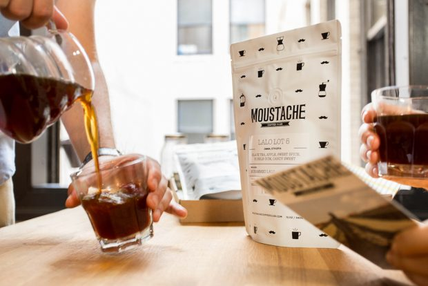 Moustache Coffee Club Takes Root in Los Angeles