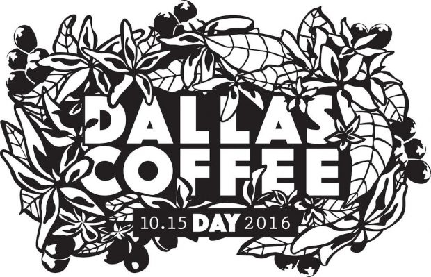 Graphic by Natalie Hasty. All images courtesy of Dallas Coffee Day.