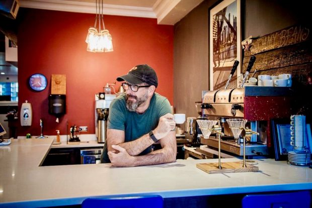 Jimmy Beans Works the Greens at New Logan Square Shop in Chicago