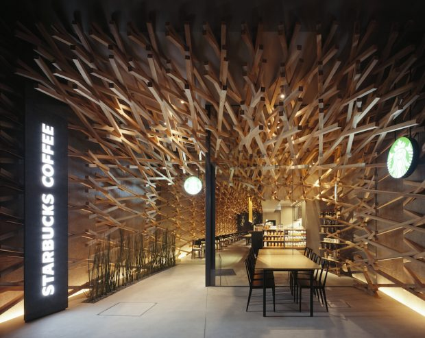 Starbucks Planning Fourth Reserve Roastery in Tokyo with Architect Kengo Kuma