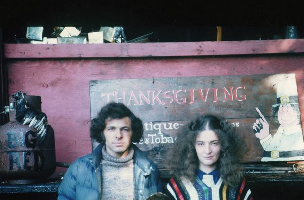 Paul and Joan Katzeff in 1972. Photo courtesy of Thanksgiving Coffee Co.