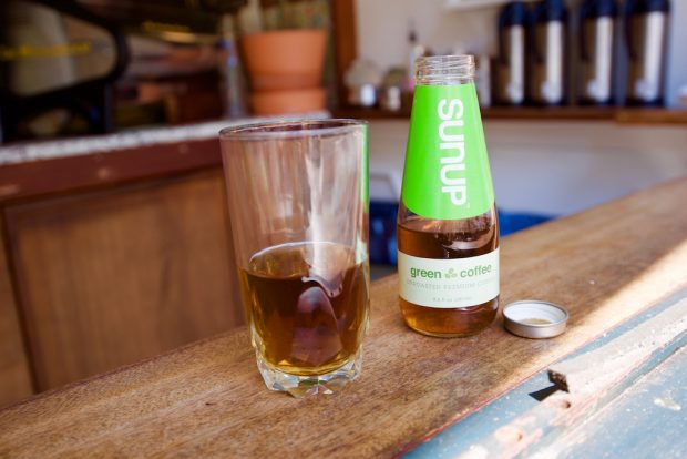 RTD Cold Coffee Startup Sunup Revolves Around Green, Unroasted Coffee