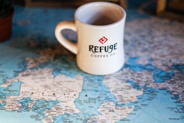 Refuge Coffee/Photo by Kaitlin Spencer.