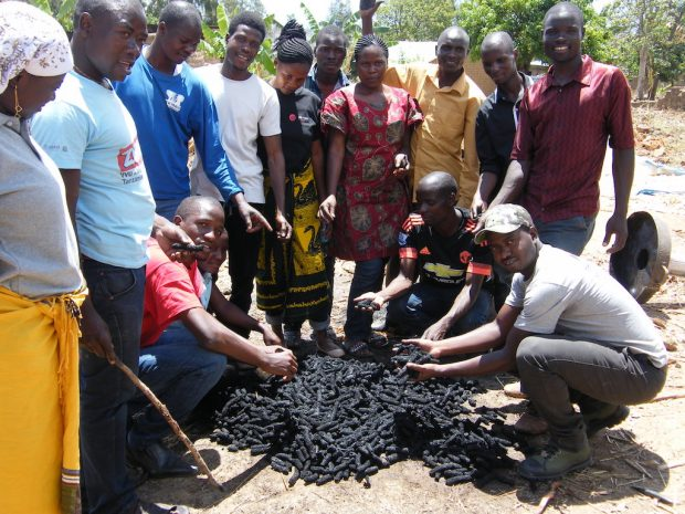 Radio Lifeline Leads Biochar-Based Black Earth Project in Tanzania