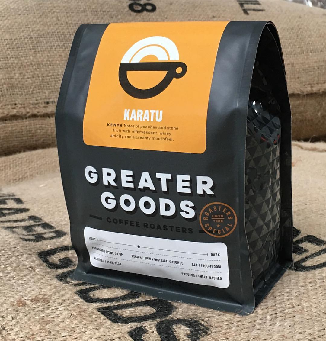 Greater Goods Roasting Austin coffee