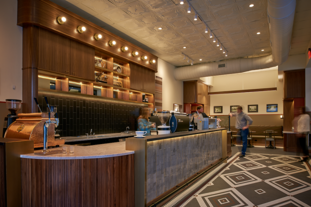Swing's Coffee Opens Elegant New Bar in Downtown DC