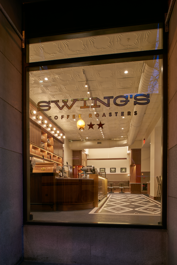 Swing's Coffee at 14th and G Street in Washington DC. Photo courtesy of Ron Ngiam