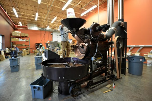 Kickapoo Coffee's roastery in Virqua, Wisc. Photo courtesy of Kickapoo Coffee Roasters.