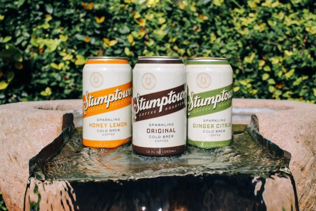 Stumptown Unveils Sparkling Coffee Drink Line, New Drinks Logo