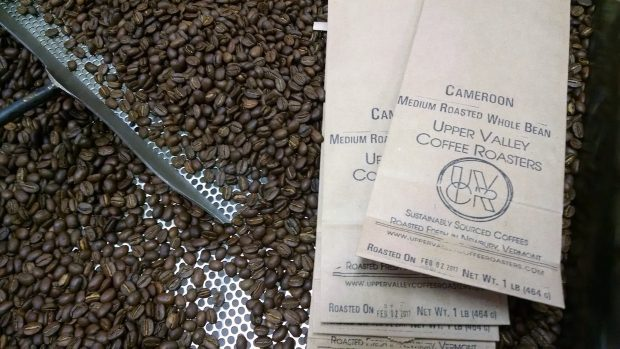Craft Coffee From a Hand-Crafted Machine at Upper Valley Coffee Roasters