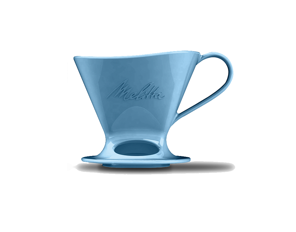 Melitta - Signature Series Pour-Over Coffeemaker - Porecelain Blue