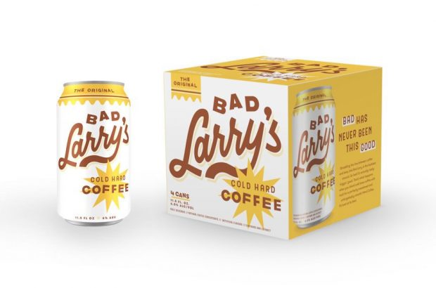 Canned 'Hard' Coffee is Happening with Bad Larry's Brand