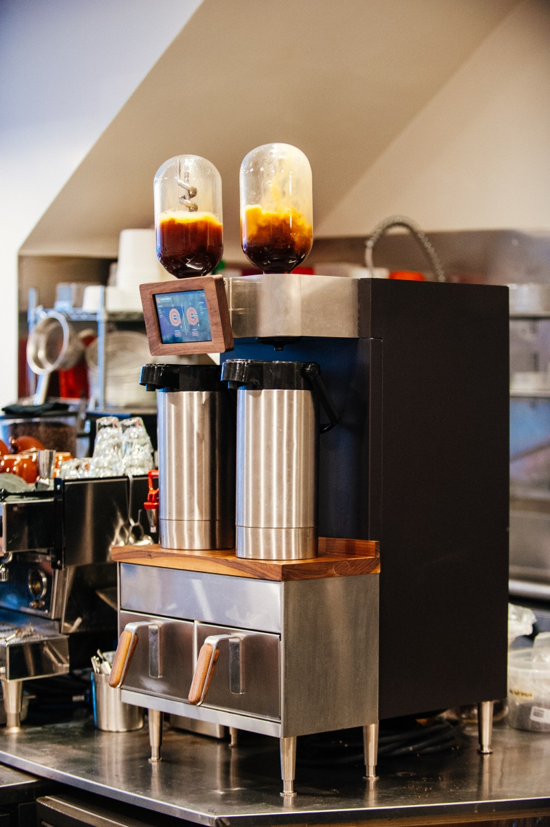 The Voga Coffee Ground Control II batch brewer. Images courtesy of Voga Coffee.