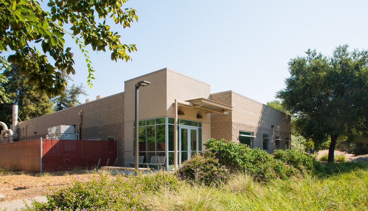 The UC Davis Coffee Center building. Photo by the UC Davis Coffee Center.