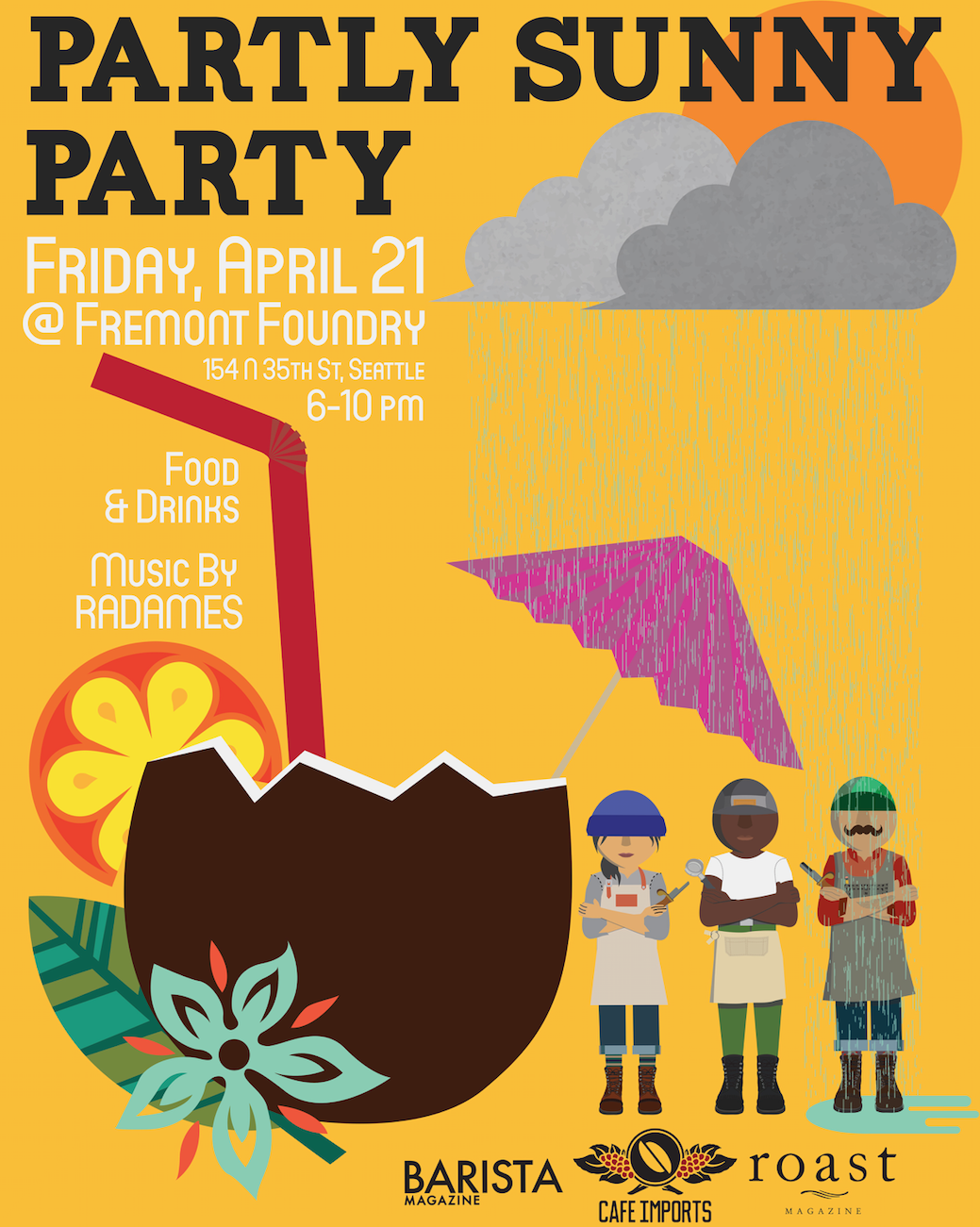 Partly Sunny Party