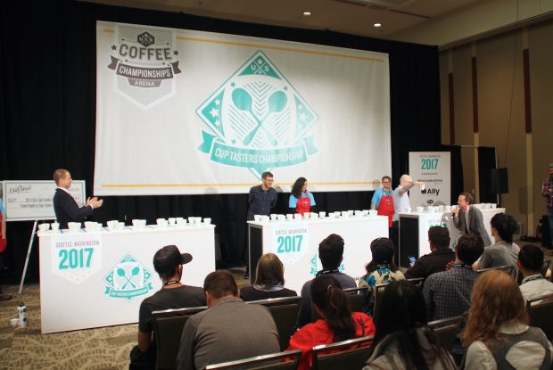 Winners of the 2017 US Coffee Championships
