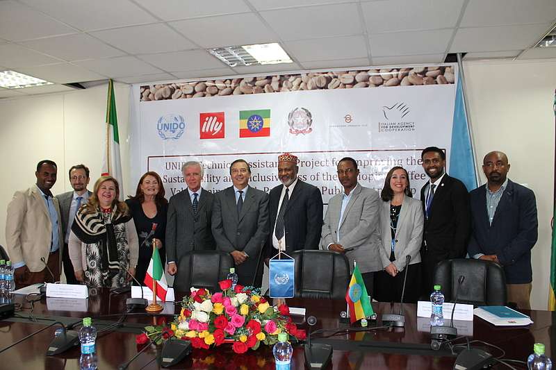 UNIDO photo from the April 3 signing.