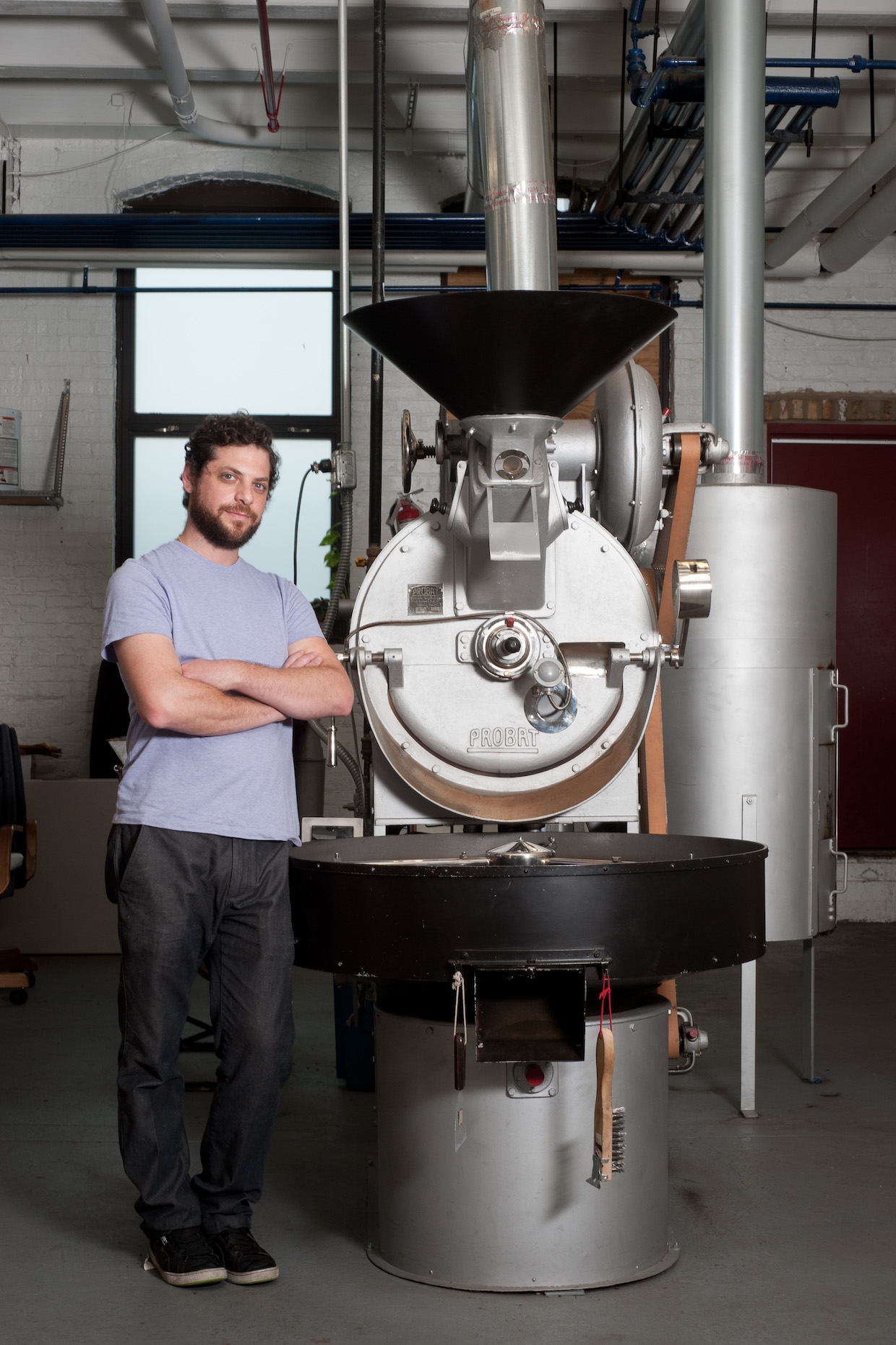 Joshua Millman of Passion House Coffee Roasters.