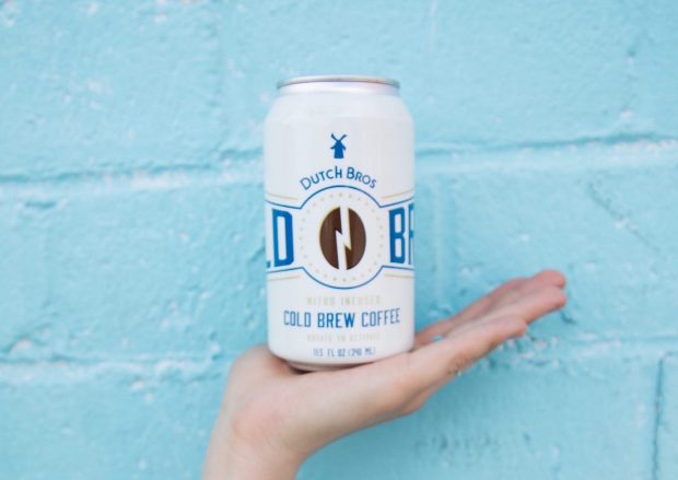Dutch Bros Rides the Prevailing Wind into RTD Nitro Cold Brew Cans