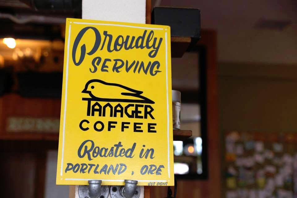 Tanager Coffee and the Arbor Lodge in North Portland. Photo by Benjamin D'Emden