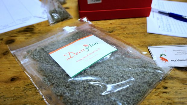 Startup Decafino Developing a Post-Brew Decaffeination Product called Decaf Pouch