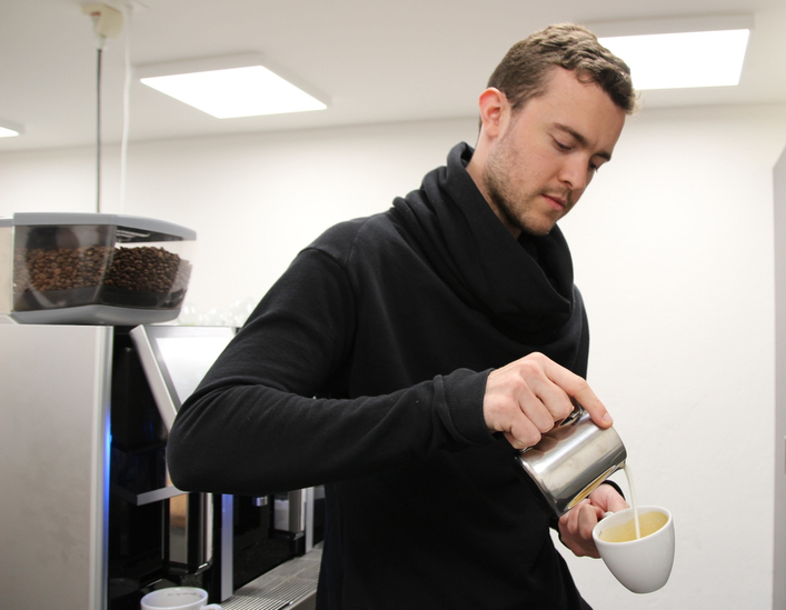 Matt Perger barista