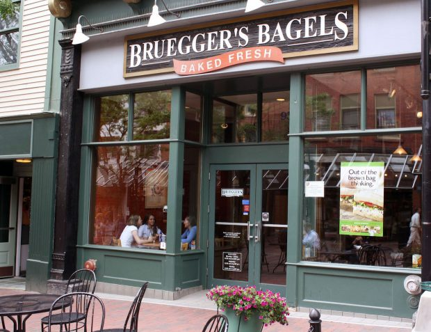Caribou Coffee Buying Bruegger's Bagels, Extending JAB's Reach