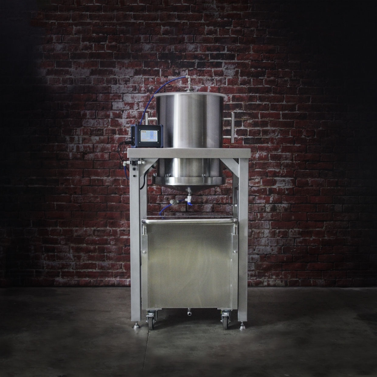 Brew Bomb Drops With Slow Drip Cold Brewer On A Commercial