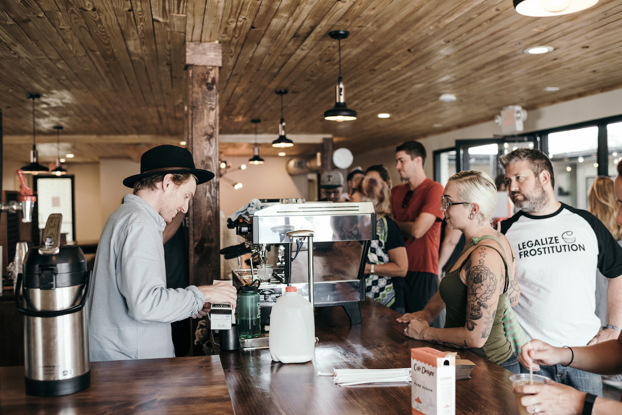 Pinewood Roasters coffee Waco