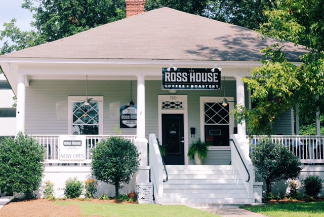 New Ross House Roastery Saves 110 Year Old House In Auburn Alabama