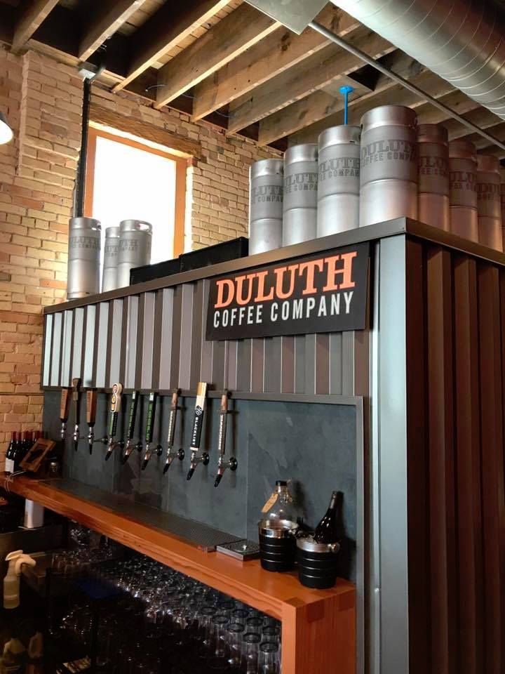 Duluth Coffee Company bar