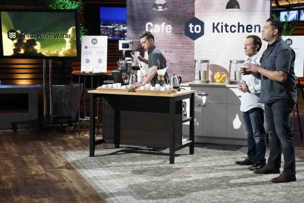 Third Wave Water Fills Shark Tank, Escapes with $100,000 Investment