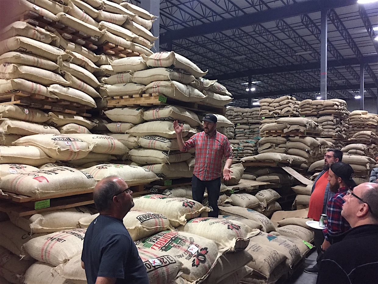 cafe imports warehouse