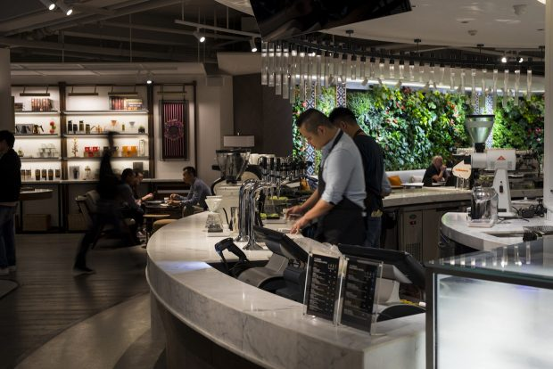 Peet's Opens Flagship Roastery Cafe in Shanghai, China