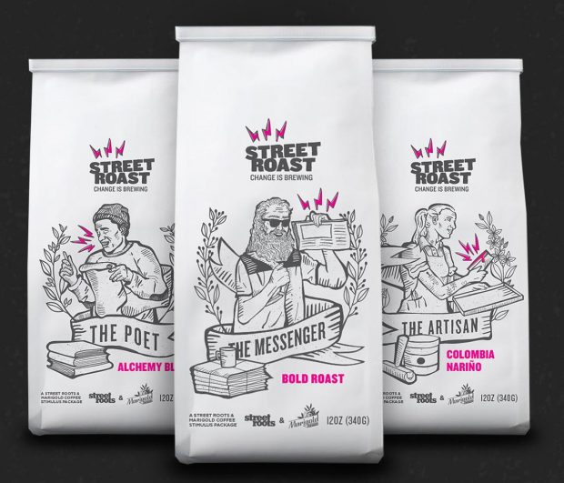 In Portland, Marigold Coffee and Street Roots Launch Street Roast