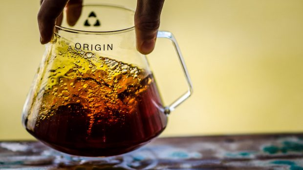 Trinity One Maker Unveils the Origin Decanter For Pourover, Cold Brew and Wine