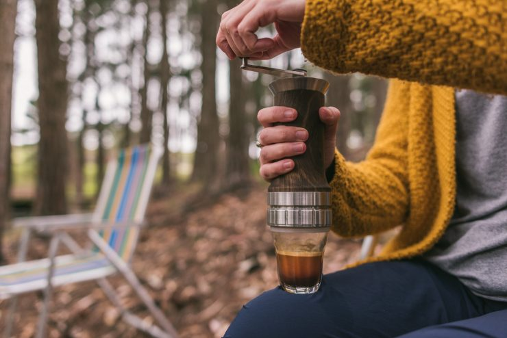 Aram manual portable espresso maker