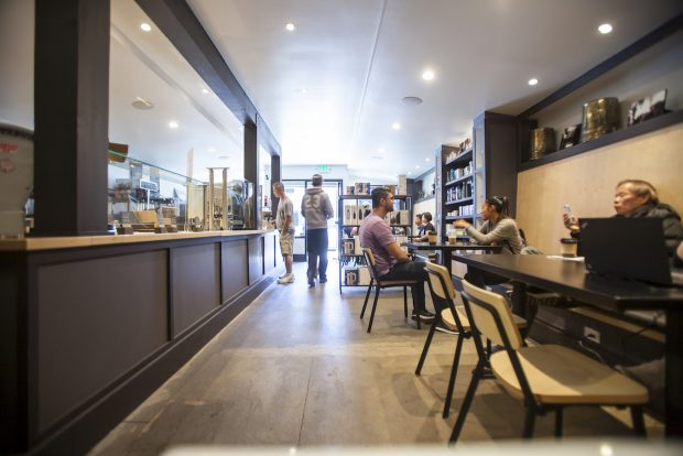 A Major Home Improvement for Henry's House of Coffee in San Francisco