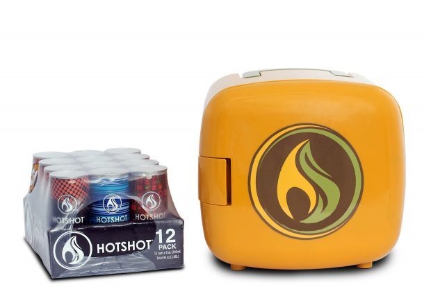 Hotshot Coffee Launches with Hot Canned Coffee System