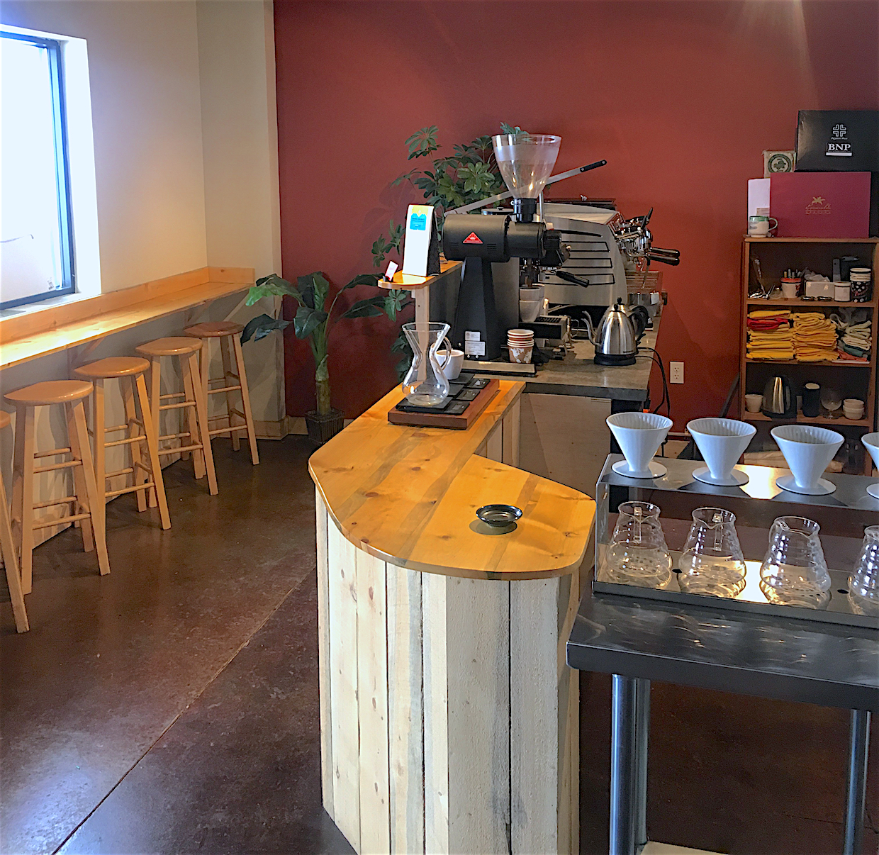Dragonfly Coffee Roasters tasting room boulder colorado