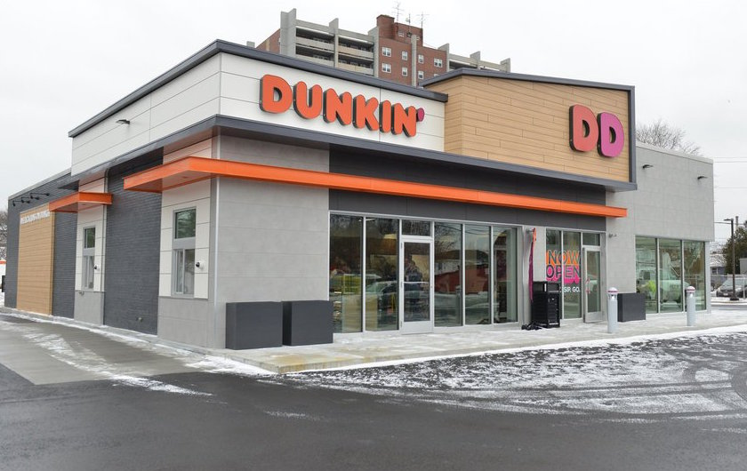 dunkin donuts store concept design