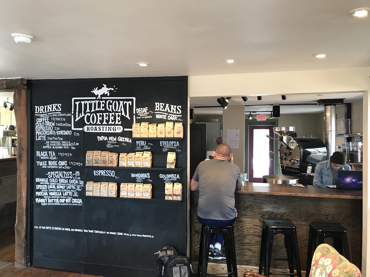 little goat coffee roasters cafe newark delaware