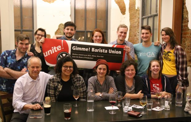 Gimme! Coffee Unionized Baristas Ratify First Labor Contract