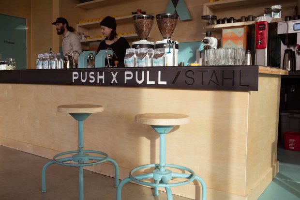 Push X Pull Finds Equilibrium in New Portland Roastery Cafe